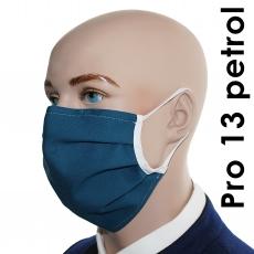 Pro13 / 5er Pack farbige Baumwoll-Varianten -  Mund-Nasen-Masken
