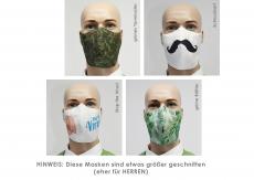 1x Mund-Nasen-Maske ProMIX1, farbenfrohe Auswahl