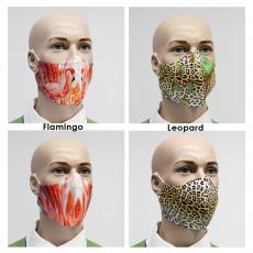 1x Mund-Nasen-Maske mit ProDUO Animal-Print