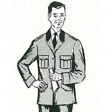 Dienstrock (A-Rock) Jagdaufseher