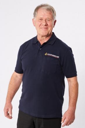 Herren-Poloshirts, dunkelblau