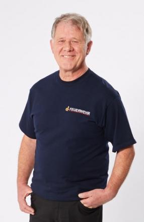 Herren-T-Shirt, dunkelblau