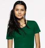 DAMEN T-Shirt, rundhals