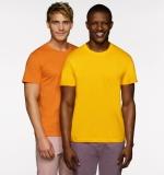 HERREN T-Shirt, rundhals
