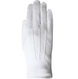 Stoffhandschuhe weiss, schwere Qualität (z.B. für Edelnarren, Zunfträte)