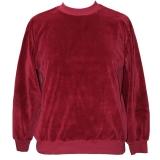 Nicki-Pullover für Kinder, weinrot