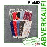 ProMIX 10er Pack, BUNTE MISCHUNG im 10er Pack sortiert - Mund-Nasen-Masken