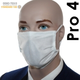 10er Pack Pro04 LEICHTE Mund-Nasen-Masken (Fadenvlies doppelt)