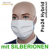 5er Pack Pro24 ANTIBAKTERIELL mit Gummiband, Mund-Nasen-Masken