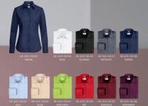 Bluse GR 65-15 Langarm, in vielen Farben lieferbar
