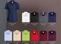 Bluse GR 65-16 Halbarm, in vielen Farben lieferbar