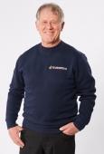 Sweatshirt Unisex, dunkelblau